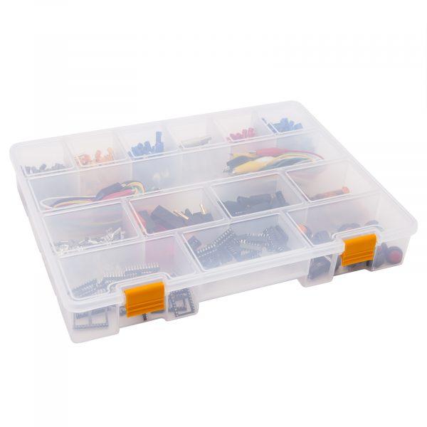 """Škatla za shranjevanje iz plastike - 13 """" - 323 x 245 x 50 mm"""