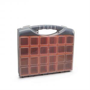 Škatla za shranjevanje iz plastike - 300 x 255 x 54 mm