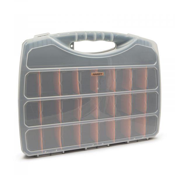Škatla za shranjevanje iz plastike - 480 x 375 x 75 mm