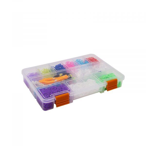 """Škatla za shranjevanje iz plastike - 9 """" - 228 x 148 x 32 mm"""