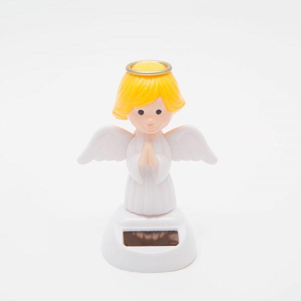 Solarna dekoracija - angel - 10 cm