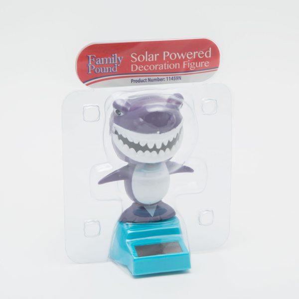 Solarna dekoracija - morski pes - 10 cm
