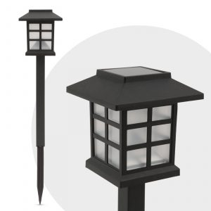 Solarna LED svetilka - imitacija plamena - 29 cm