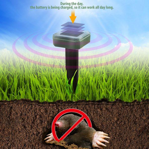 Solarni odganjalec škodljivcev