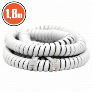 Spiralni telefonski kabel - 4P / 4C - 1,8 m
