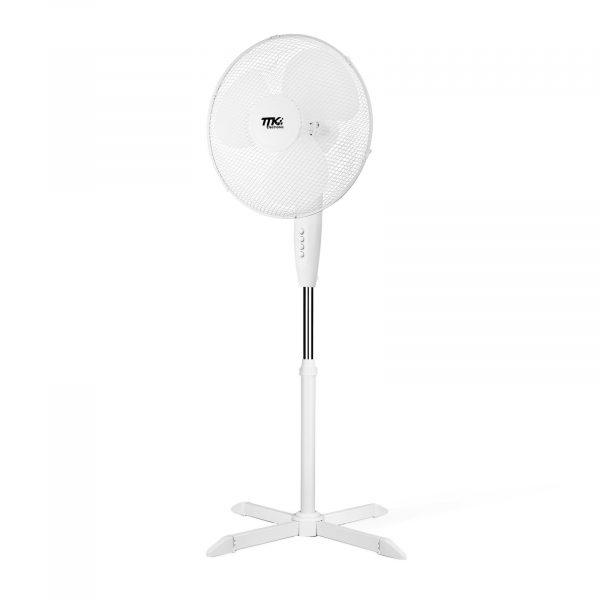 Stoječi ventilator - 40 cm - bel