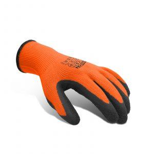 """Strojne rokavice iz lateksa Crinkle Finish Grip - velikost """"L"""""""