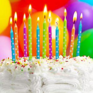 Svečke za na torto 24 kos