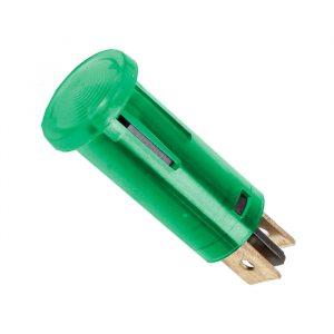 Svetlobni indikator 12V - zelen