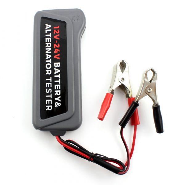 Tester alternatorja in akumulatorja 12/24V