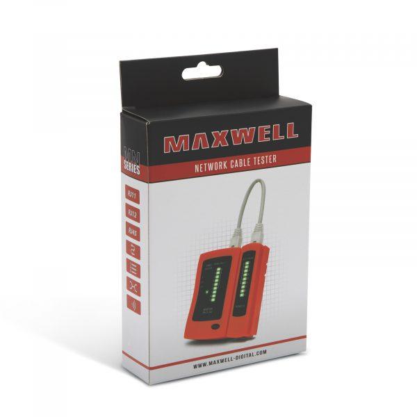 Tester kablov Maxwell RJ11, RJ12 in RJ45
