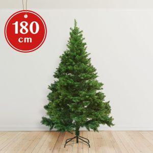 Umetno božično drevo s kovinskim stojalom - 180 cm