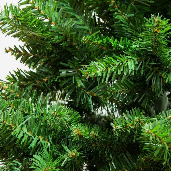 Umetno božično drevo s kovinskim stojalom - 210 cm