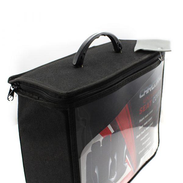 Univerzalne avtoprevleke - siva / črna 9 kosov - HSA005