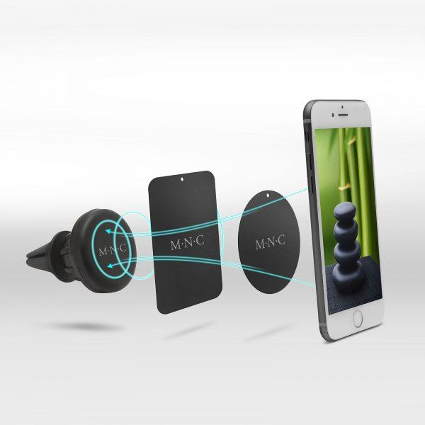 Univerzalni magnetni avtonosilec za telefon