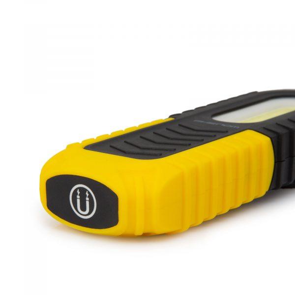 USB LED akumulatorska delovna svetilka z magnetom 2v1