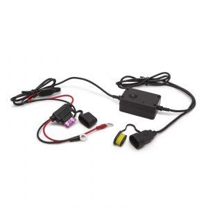 USB polnilec za motorna kolesa vodotesen z varovalko
