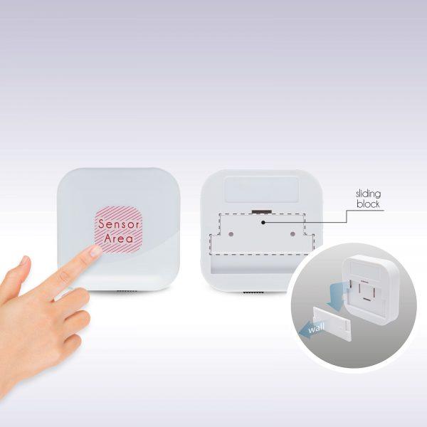 USB polnilna LED svetilka s stikalom na dotik