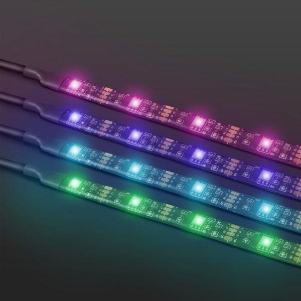 """USB RGB  LED trak s kontrolerjem - 40 - 60 """" 2 x 45 cm, 2 x 80 cm"""
