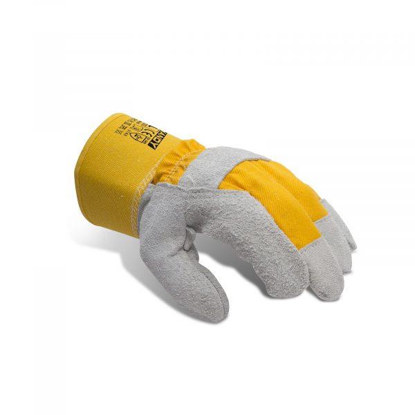 Usnjene delovne rokavice - 1 par, XL