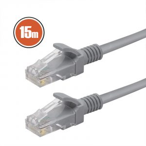 UTP kabel - 8P / 8C Cat.5e - 15 m