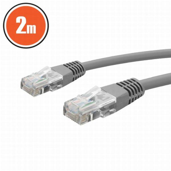 UTP kabel - 8P / 8C Cat.5e - 2 m