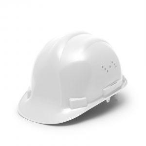 Varnostna čelada - bela