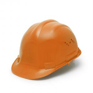 Varnostna čelada - oranžna