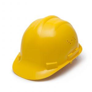 Varnostna čelada - rumena