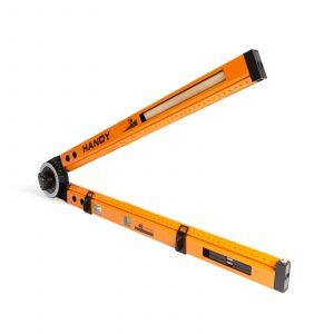 Večfunkcijsko orodje, ravnilo, niveler, marker v enem