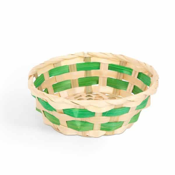 Velikonočna košara iz bambusa - 4 barve