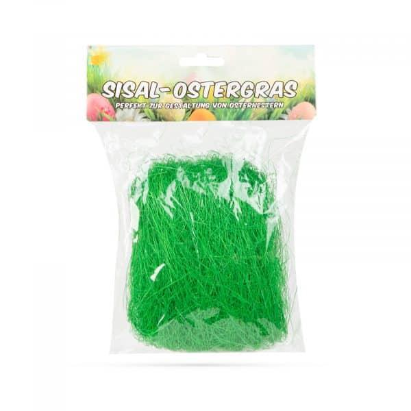 Velikonočni dekor trava - zelena - 15 g