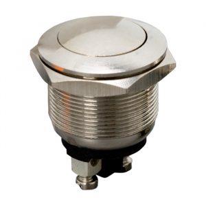 Vgradno stikalo - 1 krog - 2 A - 250 V - OFF - (ON) - kovinsko