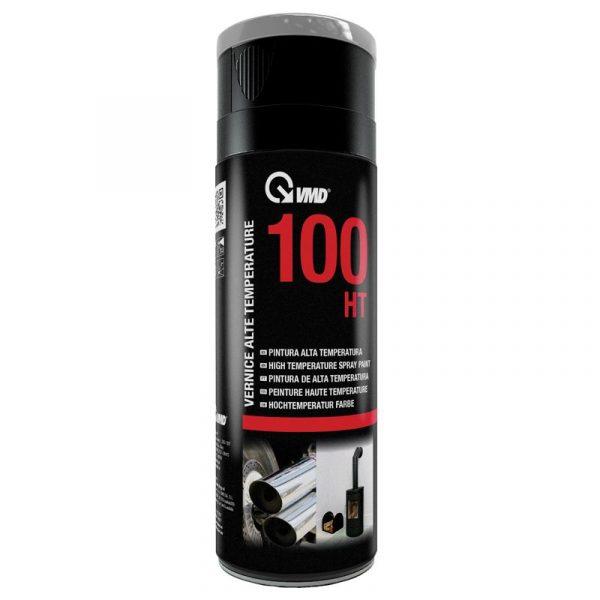 Visokotemperaturna barva v spreju - 400 ml, črna