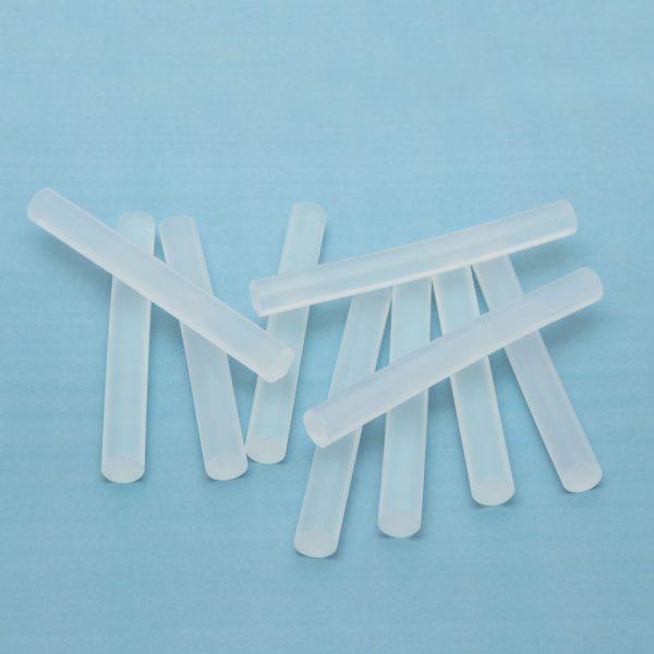 Vložki za vroče lepljenje 11mm 10 kos prozorni