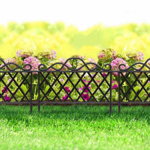 Vrtna obroba / ograja velikosti 45 x 35 cm iz plastike