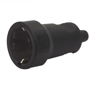Vtičnica - 250 V ~ 50Hz / 16 A - črna