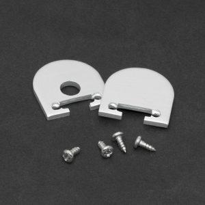 Zaključek za LED aluminijasti profil 41020 - par