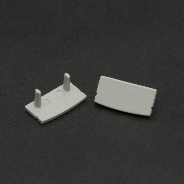 Zaključek za nadgradni LED profil 41010 17x8mm 2 kosa