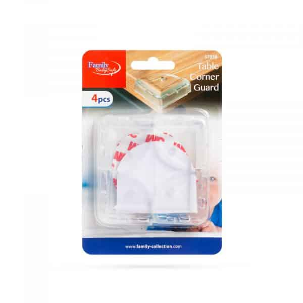 Zaščita za robove - PVC - prozorna - 4 kos / paket