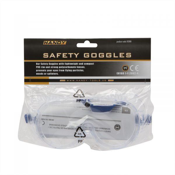 Zaščitna varnostna očala - prozorna