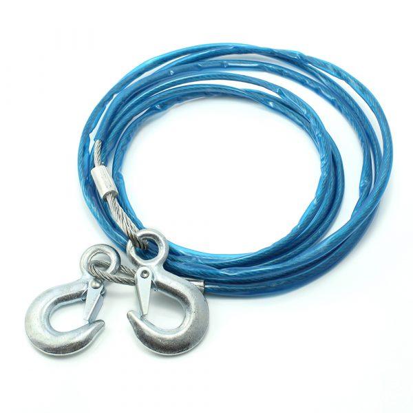 Žična vlečna vrv - max. 1800 kg - 4 m - modra
