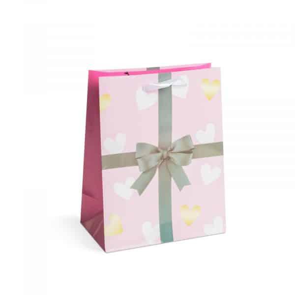 Božična darilna vrečka - 178 x 102 x 228 mm - 12 kosov / paket