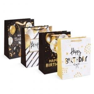 Božična darilna vrečka - 265 x 127 x 330 mm - 12 kosov / paket