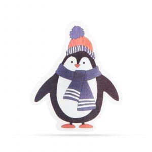 Božični RGB LED dekor - samolepilni - pingvin