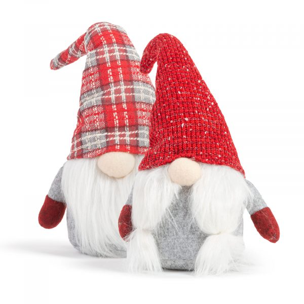 Božični skandinavni gnome - 2 vrsti - 36 cm