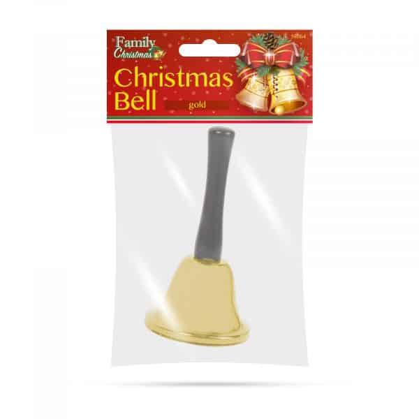Božični zvonček - zlat