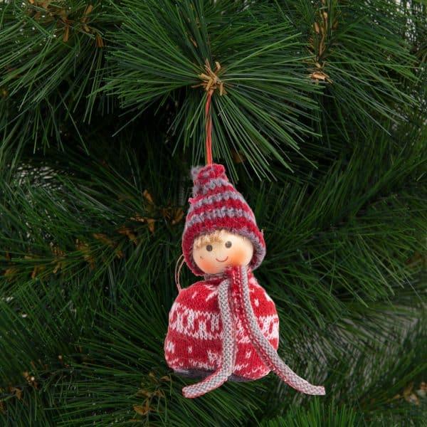 Dekoracija za božično drevo - vilenjak - 8 cm - 4 vrste