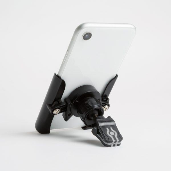 Držalo za telefon za zračnik - črno