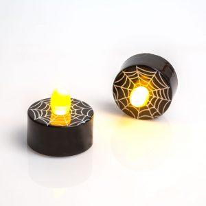 LED čajna svečka - pajkova mreža - 2 kosa / paket
